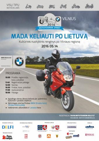 Mototurizmas 2016